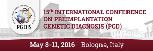 15TH International Conference on Preimplantation Genetic Diagnosis